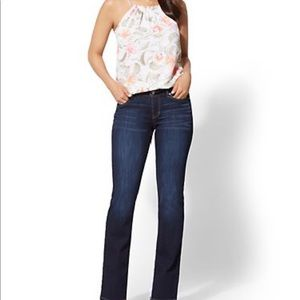 New New York & Company curvy bootcut jeans